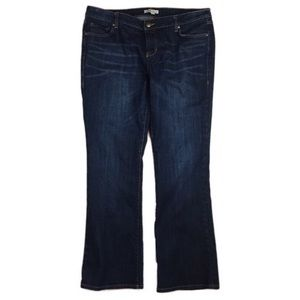 CAbi Mid Rise Boot Cut Jeans Size 16